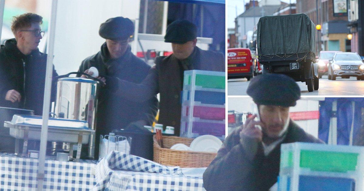 Peaky Blinders series 5: Behind-the-scenes look as filming gets underway in Liverpool