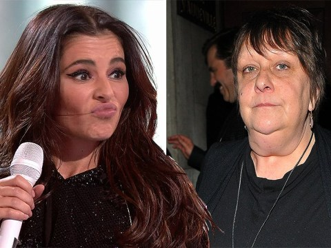 Kathy Burke claims Cheryl's records 'would sell more if she hadn't punched a toilet attendant'
