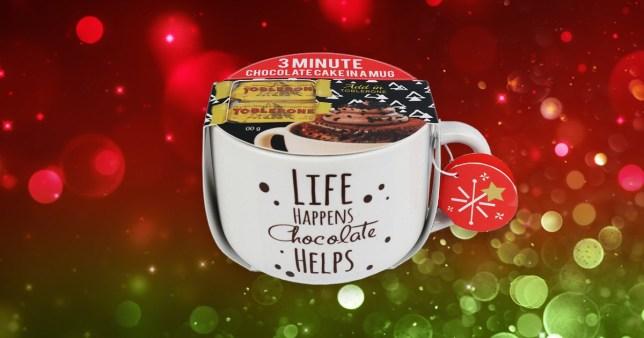 Morrisons is selling Toblerone, Nutella and Smarties mug