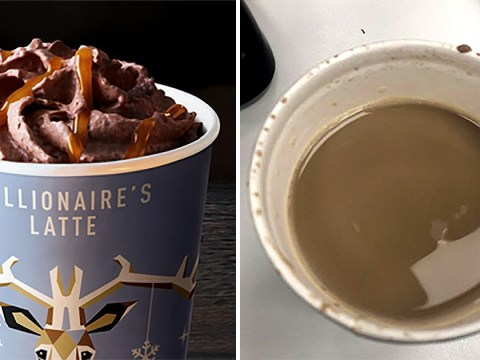 People are calling out McDonald's Millionaire's Latte for not looking quite like it does in the advert