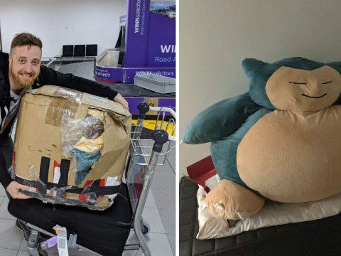Drunk man buys giant Snorlax and then discovers it costs £780 to deliver