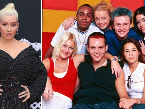 So it turns out Christina Aguilera is an S Club 7 fan and the world is shook