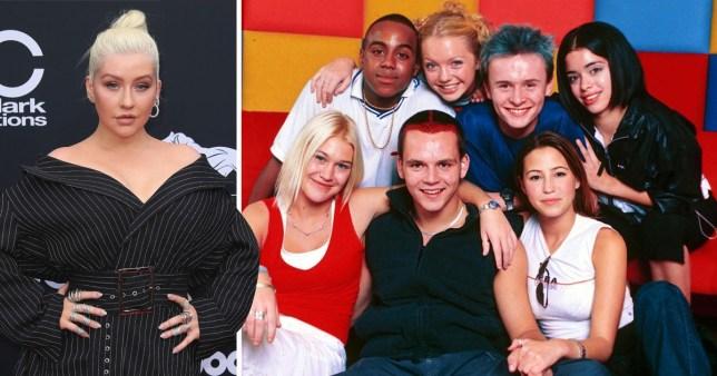 Who knew X Tina was an S Club fan? Christina Aguilera