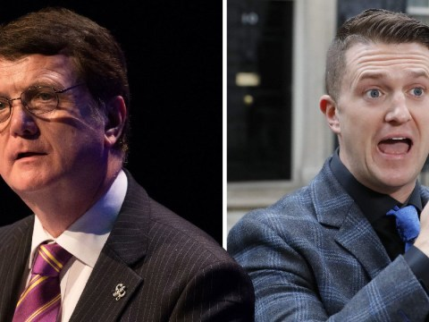 Ukip leader defends appointing Tommy Robinson as adviser on rape gangs