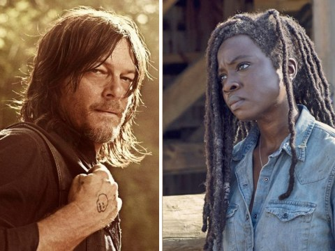 The Walking Dead's Norman Reedus warns X scar is 'dark secret between Daryl and Michonne'