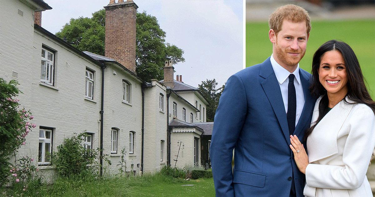 Party Prince Harry and Meghan opt for the quiet life at Royal favourite Frogmore