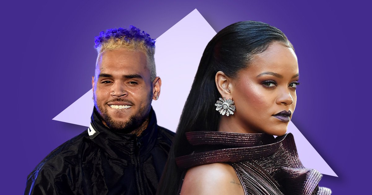 Rihanna fans tell Chris Brown to 'back off' as he begins commenting on singer's Instagram