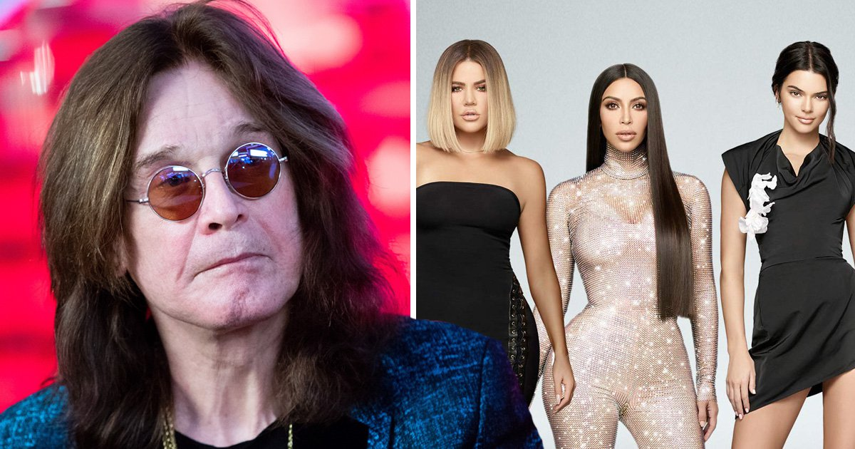 Ozzy Osbourne questions the Kardashian's fame: 'They don't do anything'