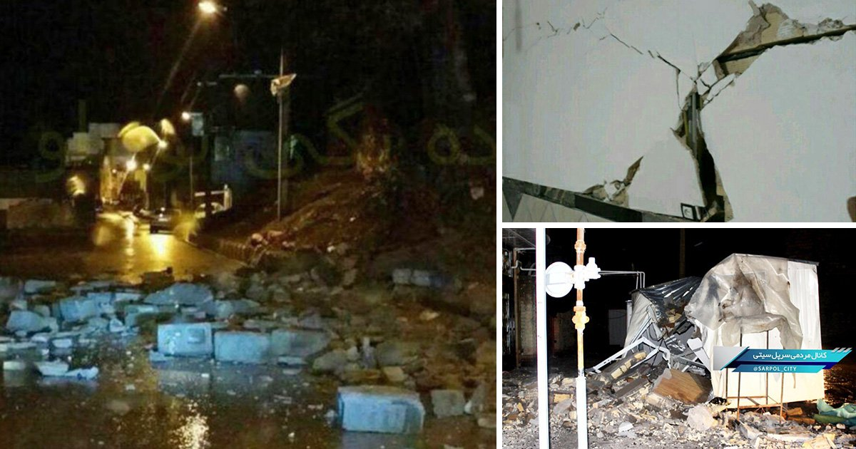 Hundreds of people injured after strong 6.3 magnitude earthquake strikes in Iran