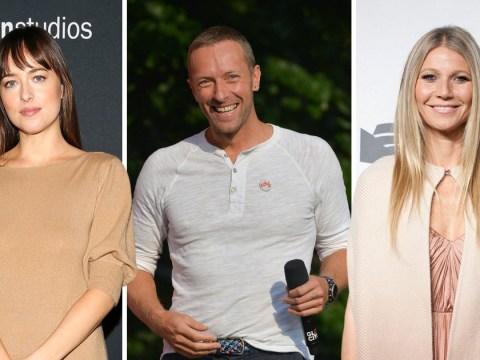Dakota Johnson 'spent Thanksgiving with Chris Martin, his ex-wife Gwyneth Paltrow and their kids'