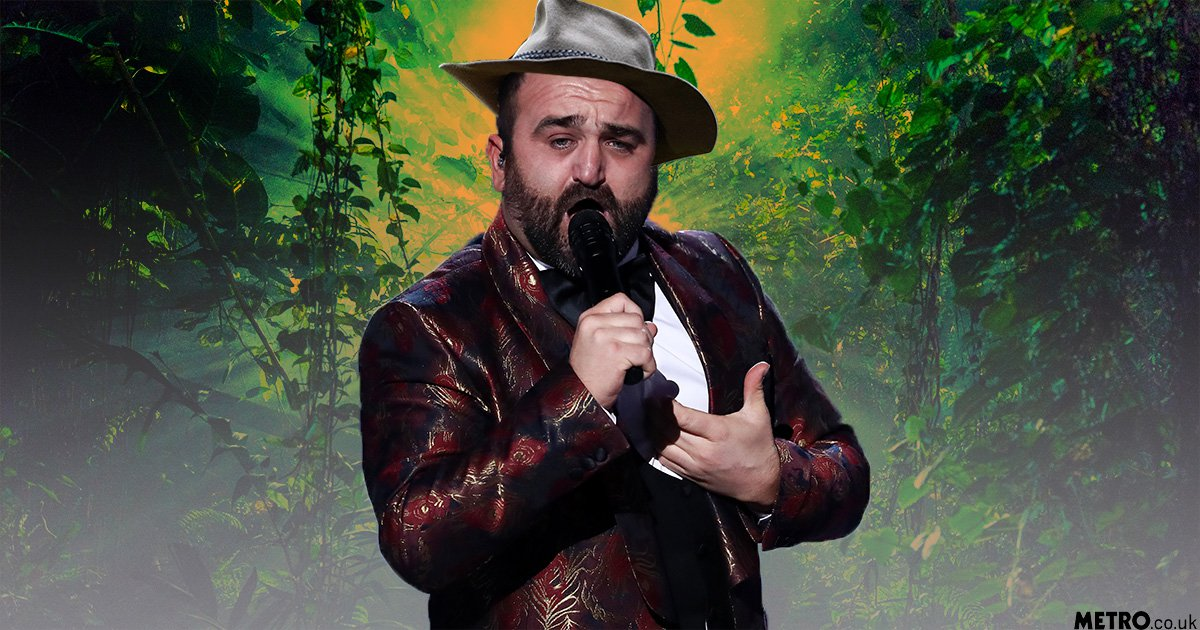 Danny Tetley 'hasn't cried once' since X Factor exit as he reveals plans to join I'm a Celebrity jungle
