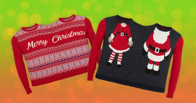 52e4ab2e7d8 Tesco is selling Christmas jumpers for two people  to combat loneliness