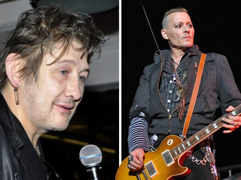 Johnny Depp is playing guitar at Pogues singer Shane McGowan's wedding