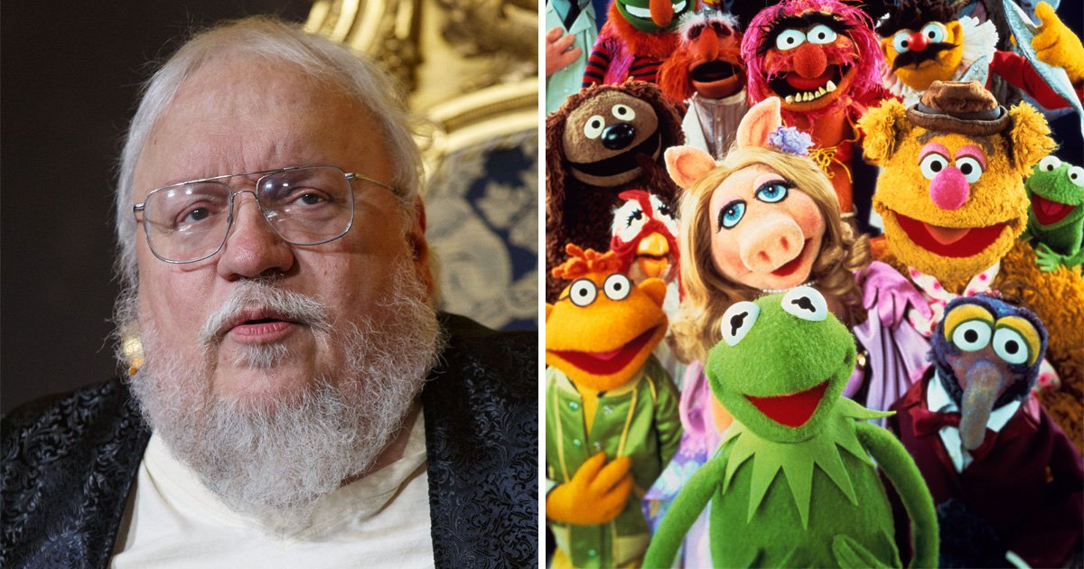 Game of Thrones author George RR Martin has been sneaking Muppets references into his books