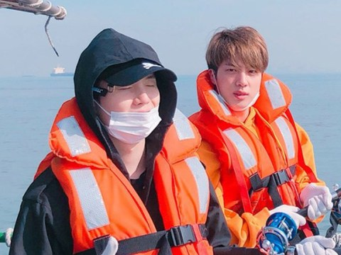 BTS' Suga and Jin fulfil promise to go fishing and it's just so wholesome