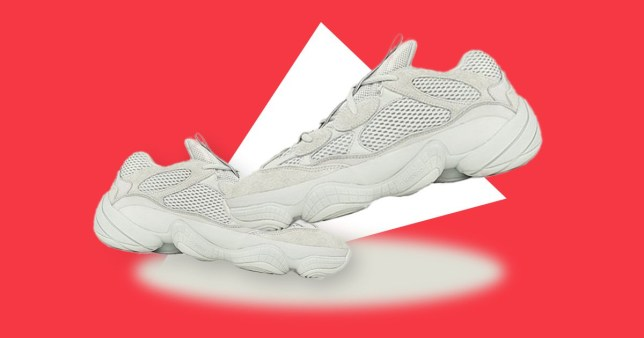 84042bf989a66 The Adidas Yeezy 500 Salt is dropping