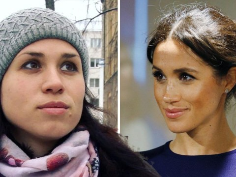 Hunt for Meghan Markle lookalike spotted in Russia