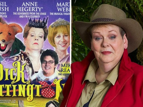 I'm a Celebrity's Anne Hegerty will keep fans waiting three weeks for her pantomime appearance