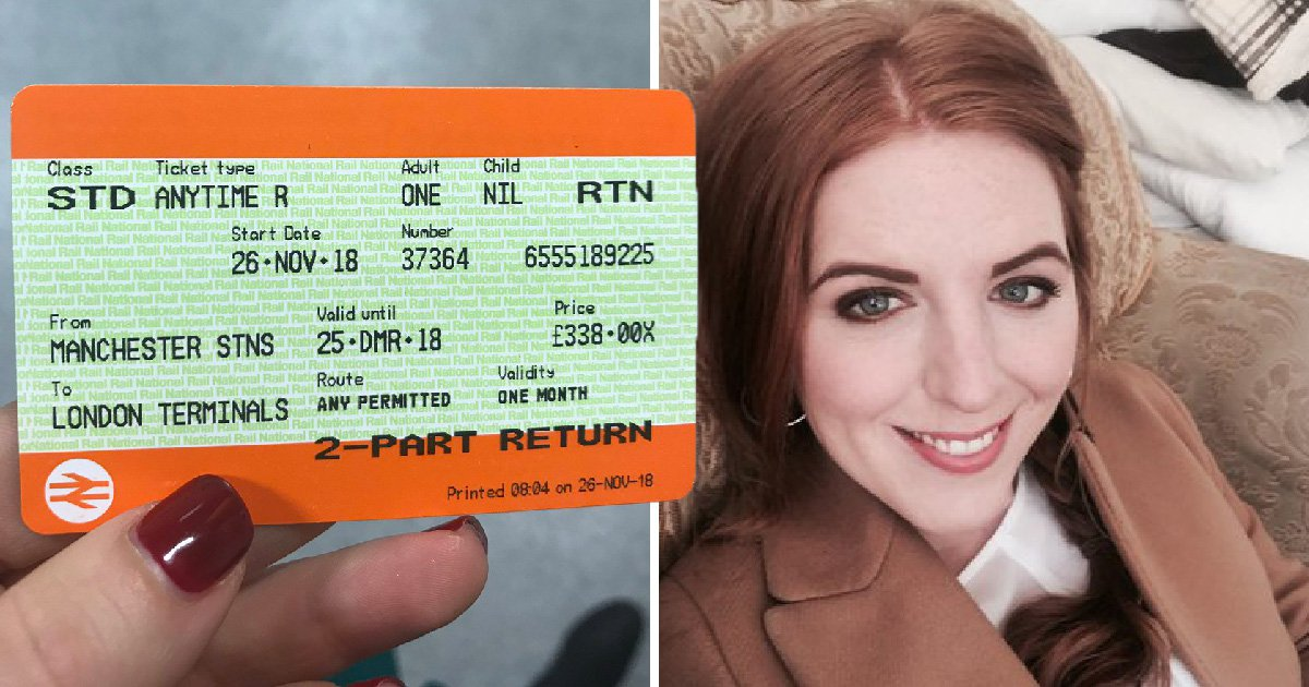 Train ticket from London to Manchester cost more than return flights to New York