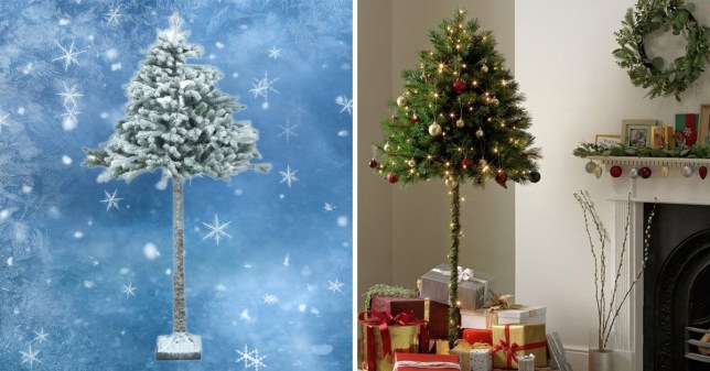Pictures Of Christmas Trees.Argos Launches Parasol Christmas Trees That Your Cat Can T