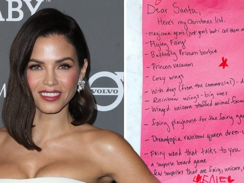 Jenna Dewan shares daughter Everly's adorable Christmas list to Santa and it's pretty comprehensive