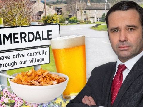 5 disgusting recipes Emmerdale's Graham Foster could try after his beer with cornflakes