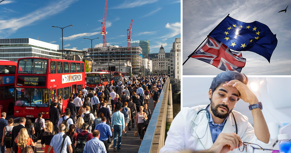 Migration to the UK falls to lowest level for six years
