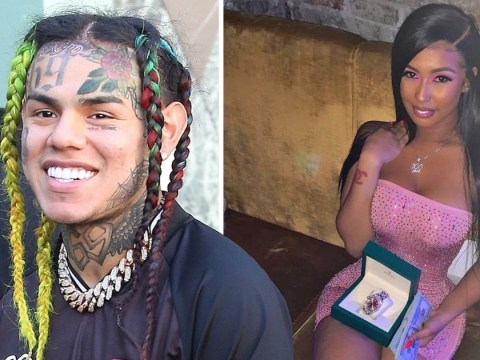 Tekashi69 makes sure his girlfriend stays dripping as he gives her $35,000 Rolex from behind bars