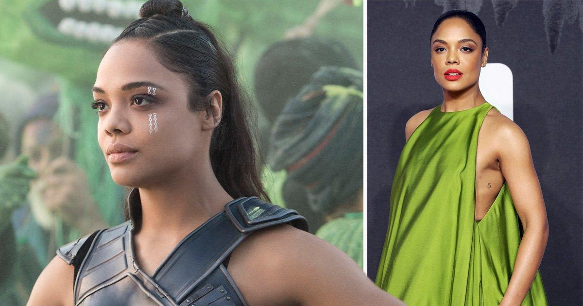 Tessa Thompson doesn't blame Marvel for cutting Valkyrie's lesbian love scene from Thor: Ragnarok