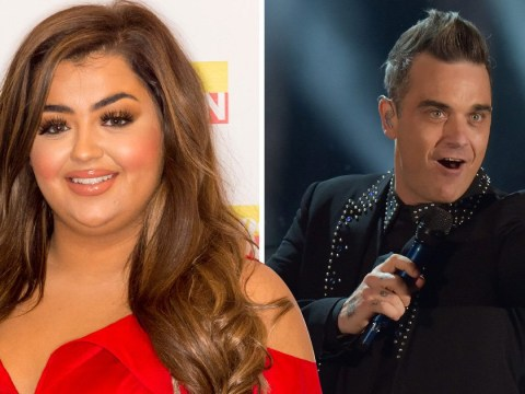 X Factor's Scarlett Lee to sing Angels with Robbie Williams in live final