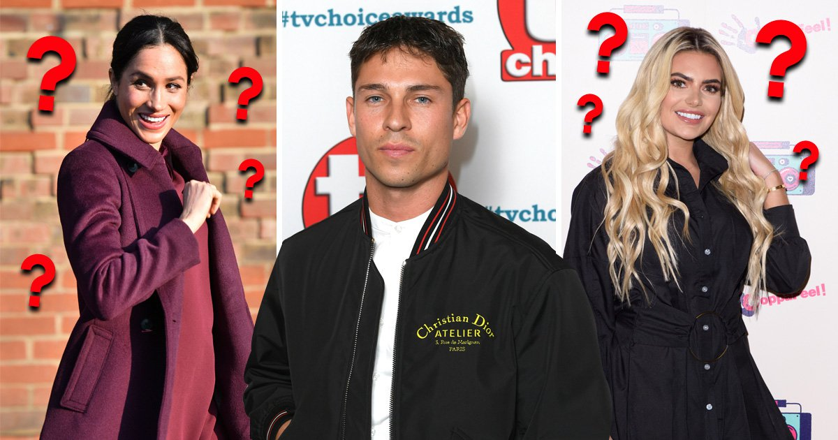 Joey Essex confuses Megan from Love Island and Meghan Markle
