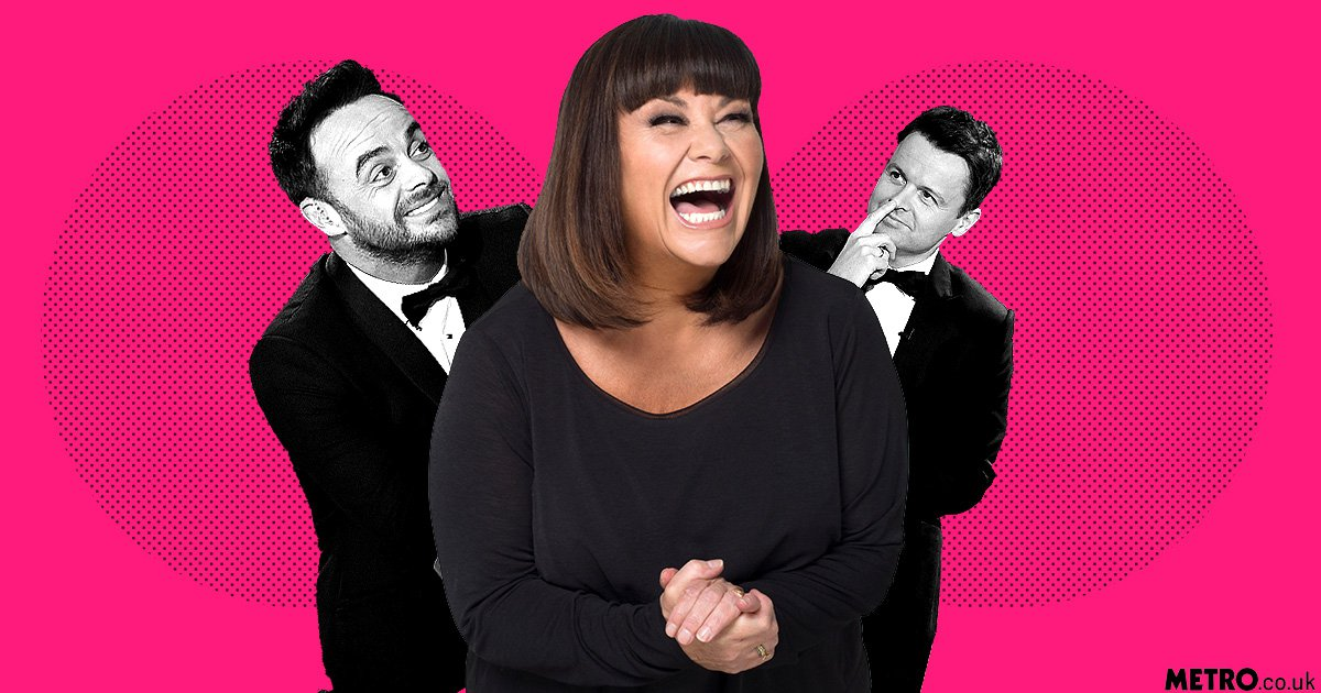 Dawn French has named her boobs after Ant and Dec 'because one's smaller than the other'