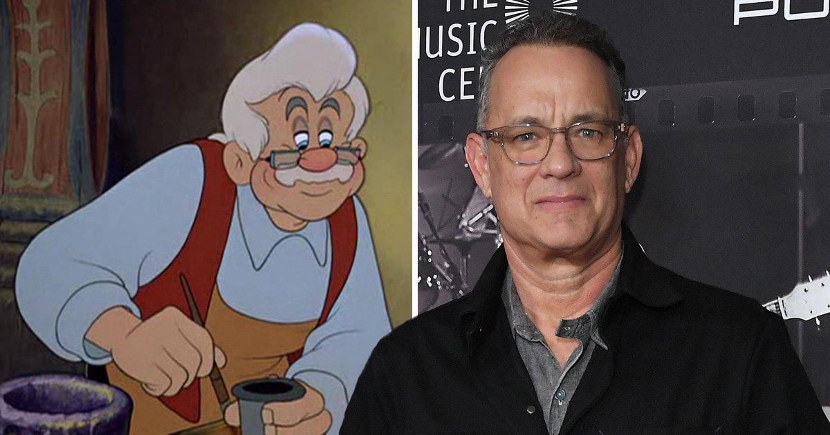 Tom Hanks 'to play Geppetto in live action Pinocchio' and it's the best casting call ever