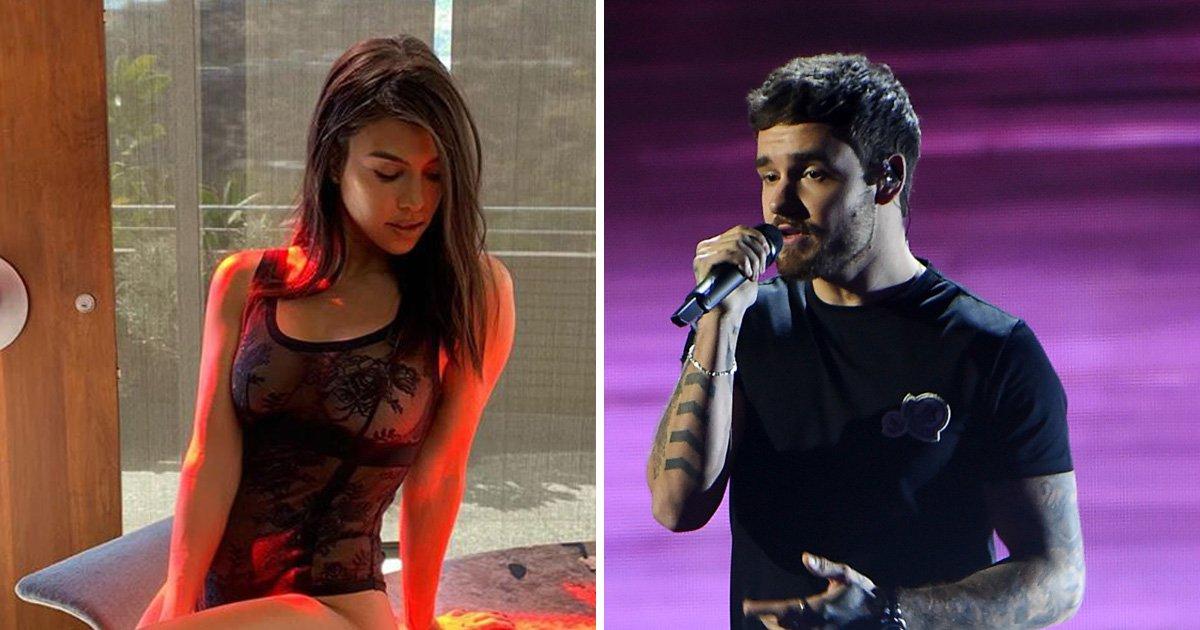 Liam Payne slides into Kourtney Kardashian's Instagram comments under lingerie picture