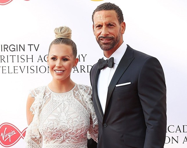 BGUK_1235447 - London, UNITED KINGDOM - Celebrities arrive at the British Academy Television Awards held at the Royal Festival Hall in London Pictured: Kate Wright and Rio Ferdinand BACKGRID UK 13 MAY 2018 BYLINE MUST READ: TIMMSY / BACKGRID UK: +44 208 344 2007 / uksales@backgrid.com USA: +1 310 798 9111 / usasales@backgrid.com *UK Clients - Pictures Containing Children Please Pixelate Face Prior To Publication*