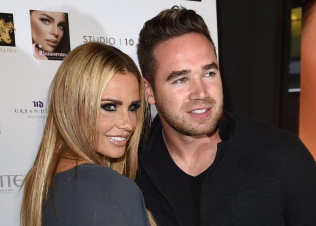 Mandatory Credit: Photo by David Fisher/REX/Shutterstock (5088106ck) Katie Price and husband Kieran Hayler 'Gary Cockerill: Simply Glamorous' book launch party, London, Britain - 16 Sep 2015