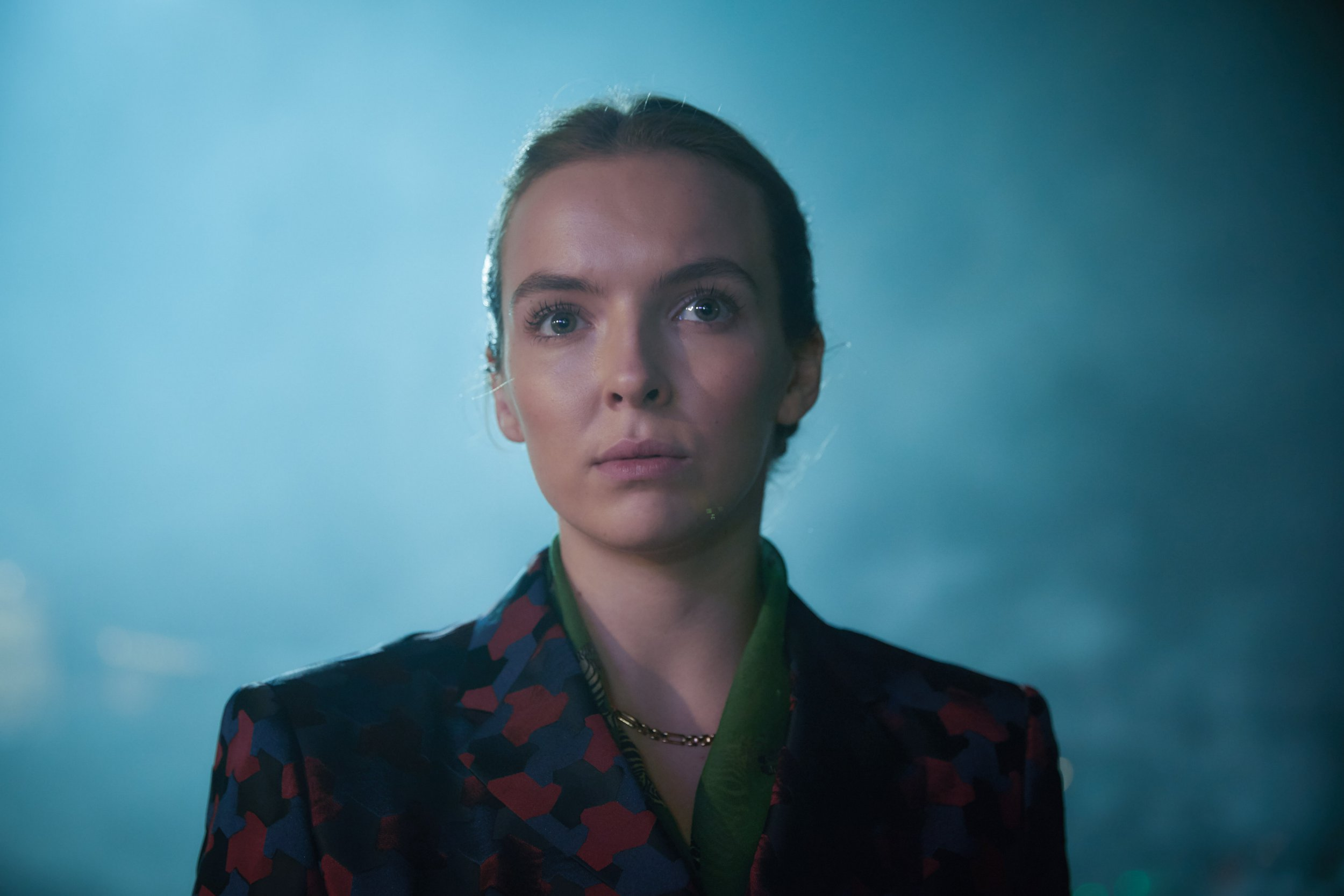 WARNING: Embargoed for publication until 00:00:01 on 25/09/2018 - Programme Name: Killing Eve - TX: n/a - Episode: n/a (No. Ep 3) - Picture Shows: *STRICTLY NOT FOR PUBLICATION UNTIL 00:01HRS, TUESDAY 25TH SEPTEMBER, 2018* Villanelle (JODIE COMER) - (C) Sid Gentle Films - Photographer: Robert Viglasky