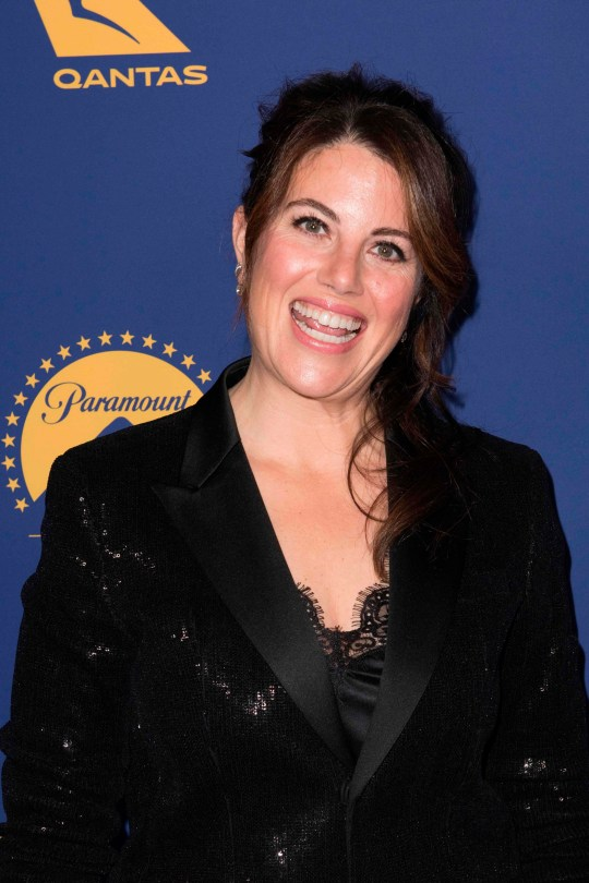 US television personality Monica Lewinsky arrives for the Australians in Film Awards Gala on October 24, 2018 at Paramount Studios in Hollywood, California. (Photo by Nick Agro / AFP)NICK AGRO/AFP/Getty Images