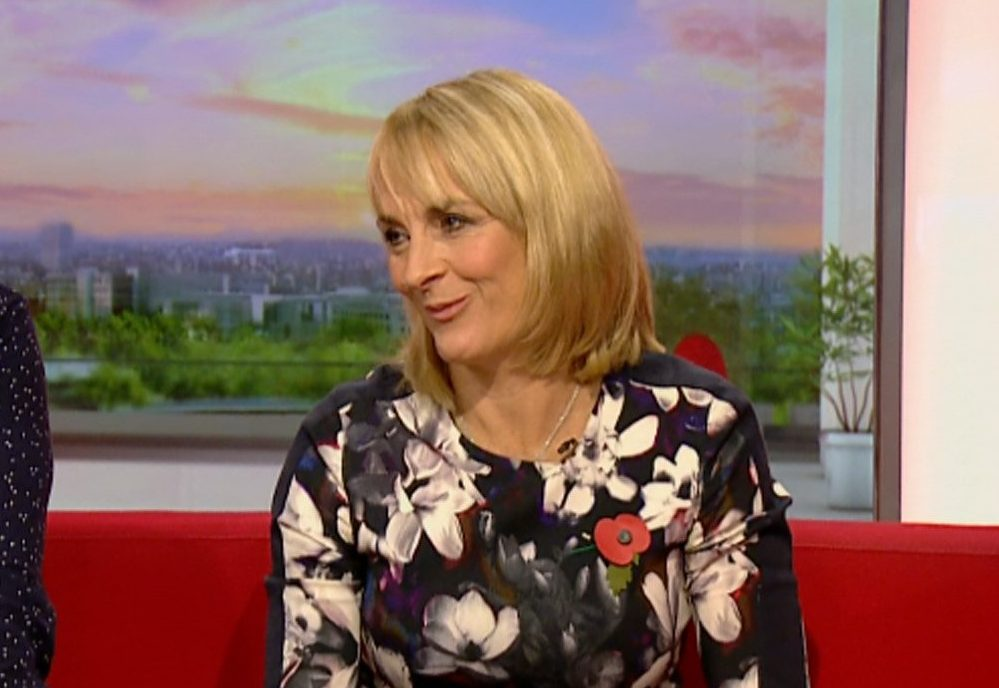 Where is Louise Minchin going for her triathlon as she takes leave from BBC Breakfast?