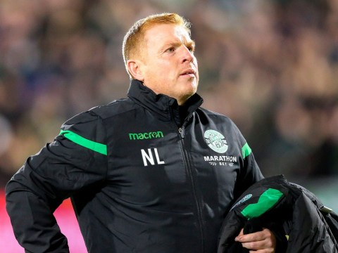 Neil Lennon calls out fan who hit him with coin during Hearts vs Hibernian