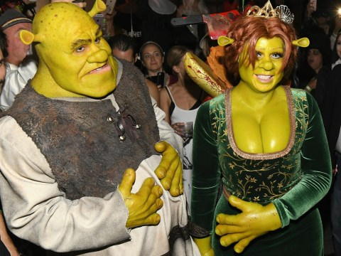 Heidi Klum is the reigning Queen of Halloween as she unveils epic Shrek costume