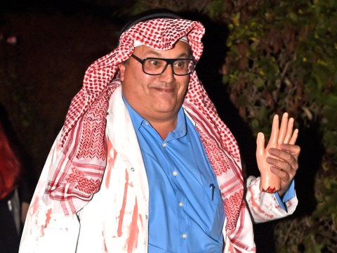 ITV comedy boss apologises for offensive Saudi executioner costume at Jonathan Ross's Halloween party