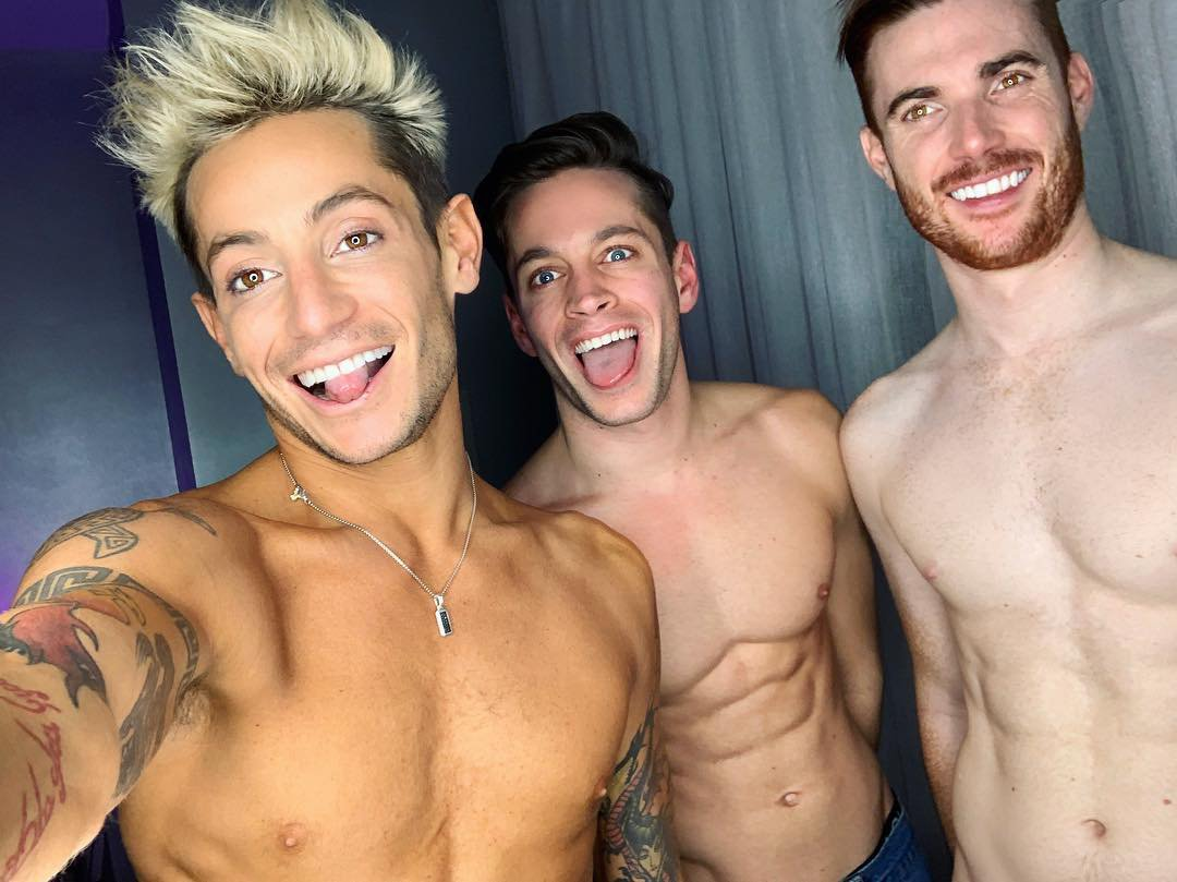 Frankie Grande feels like a 'brand new person' as he opens up about dating married couple