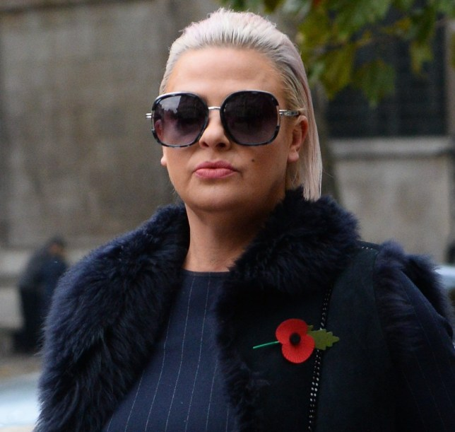Lisa Armstrong arrives at the Royal Courts of Justice, to start legal arguments with her husband, Ant McPartlin, over money regarding their divorce settlement. PRESS ASSOCIATION Photo. Picture date: Monday November 5, 2018. See PA story COURTS McPartlin. Photo credit should read: Kirsty O'Connor/PA Wire
