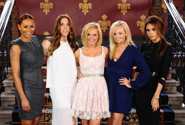 File photo dated 26/06/12 of the Spice Girls (from left to right) Melanie Brown (Mel B), Melanie Chisholm (Mel C), Geri Halliwell, Emma Bunton and Victoria Beckham during the launch of Viva Forever, a musical featuring songs from the Spice Girls. The band is believed to be gearing up to announce a UK stadium tour for 2019 - but as a four-piece without Beckham. PRESS ASSOCIATION Photo. Issue date: Monday November 5, 2018. The Spice Girls, formed in 1994 and one of the most successful acts of that decade, have not performed together since the London Olympics closing ceremony in 2012, and they last toured together 10 years ago. See PA story SHOWBIZ Spice. Photo credit should read: Ian West/PA Wire