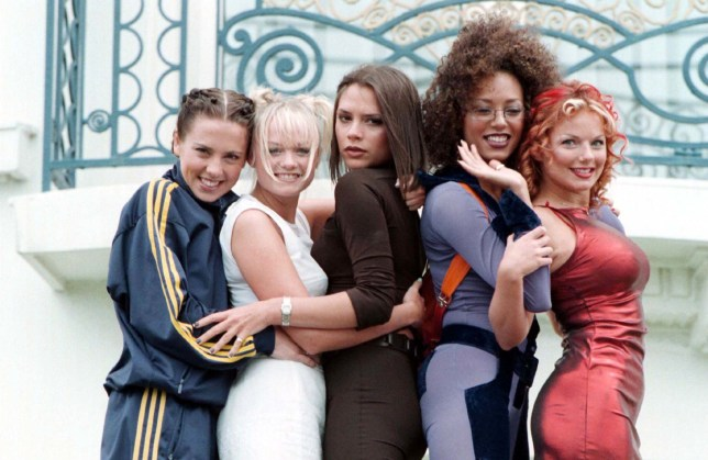 File photo dated 11/05/1997 of the Spice Girls outside the Martinez Hotel in Cannes, during the 50th Cannes Film Festival. The band is believed to be gearing up to announce a UK stadium tour for 2019 - but as a four-piece without Victoria Beckham. PRESS ASSOCIATION Photo. Issue date: Monday November 5, 2018. The Spice Girls, formed in 1994 and one of the most successful acts of that decade, have not performed together since the London Olympics closing ceremony in 2012, and they last toured together 10 years ago. See PA story SHOWBIZ Spice. Photo credit should read: Neil Munns/PA Wire