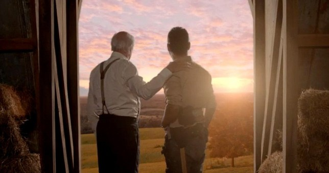 The Walking Dead: Hershel's Return Scene Revealed Season 9 Episode 5 Picture: AMC METROGRAB