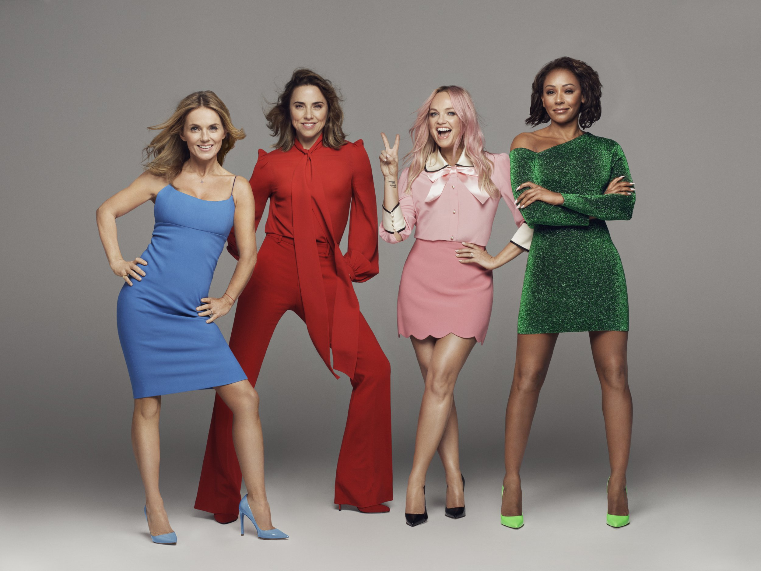 STRICTLY EMBARGOED UNTIL MON 5TH NOV - 3.15PM GMT Colours of the world...every boy and every girl...people of the world...AHHHH! SPICE GIRLS ANNOUNCE 2019 STADIUM TOUR Tickets on sale on Saturday 10th November