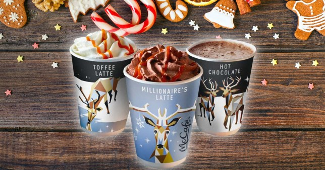 Mcdonalds Launches A Christmas Latte Inspired By