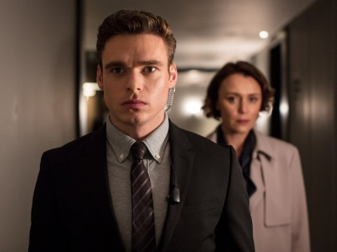 Bodyguard's Keeley Hawes sends well wishes to co-star Richard Madden as she snubs Golden Globes